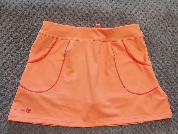 Юбка-шорты для физкультуры (спорта) на девочку 9-10 лет, фирменная
