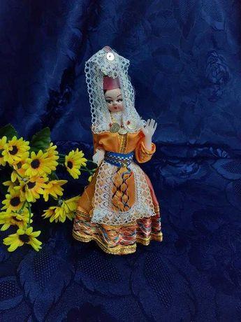Кукла СССР армянка в национальном целлулоид винтаж куколка в одежде
