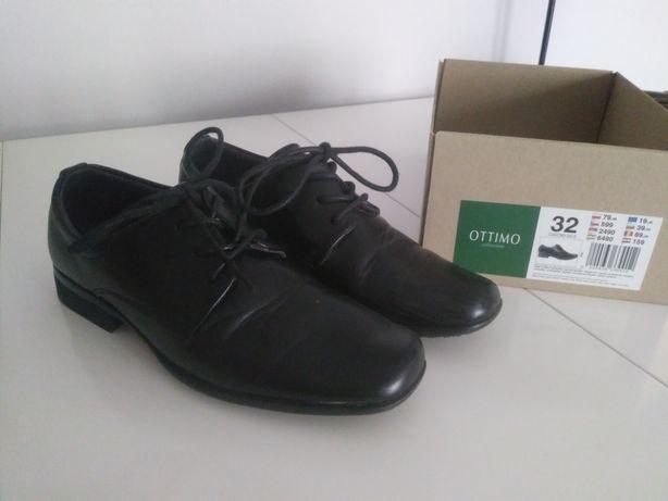 Buty eleganckie chłopięce