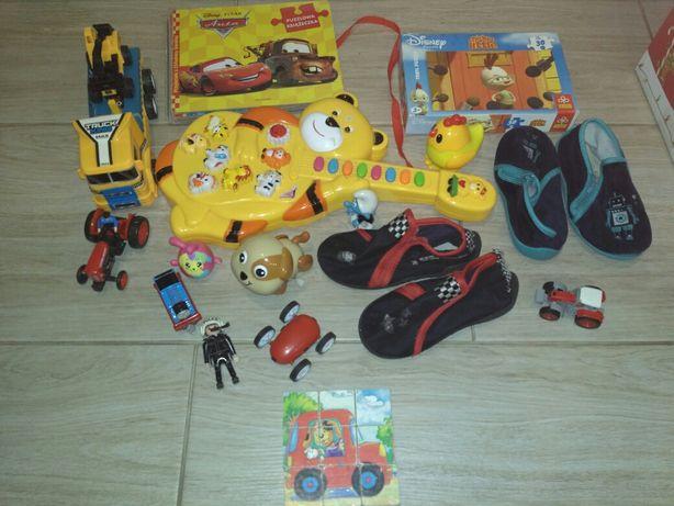 Zabawki ,puzzle,gitara