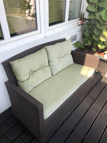 Zestaw ogrodowy/balkonowy meble balkonowe ogrodowe fotele kanapa