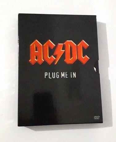 AC/DC - Plug Me In - Set de 2 DVD's