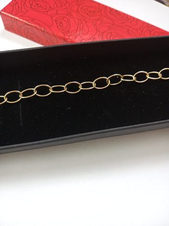 Złota bransoletka złoto charms 585