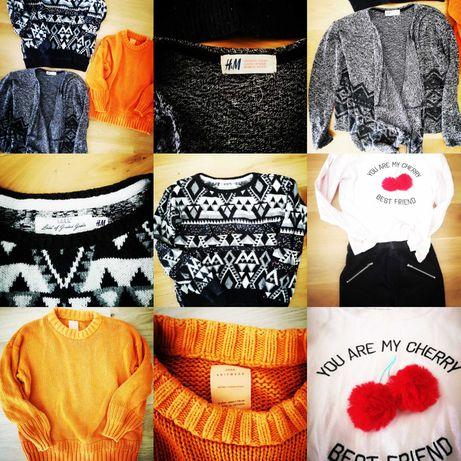 26 szt Zestaw ubrań dla dziewczynki h&m, zara, kapphal, cool club,