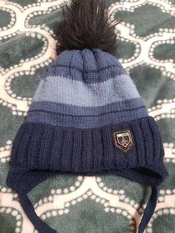 Продам зимнюю тёплую шапку на мальчика р.50-52