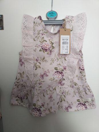 Bluzka bluzeczka letnia newbie 98 104