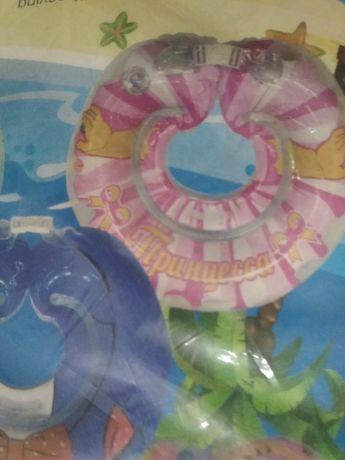 """Круг для купания НОВЫЙ """"Принцесса"""" в упаковке!"""