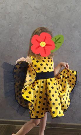 Платье в стиле ретро/ стиляги/ сукня в горох