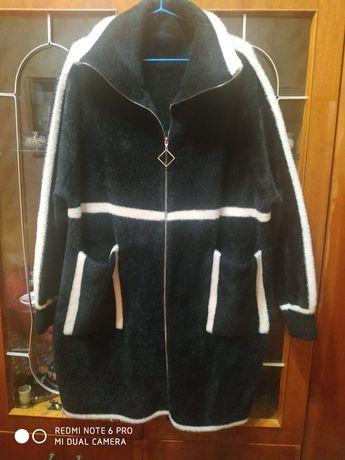 Пальто альпака теплое