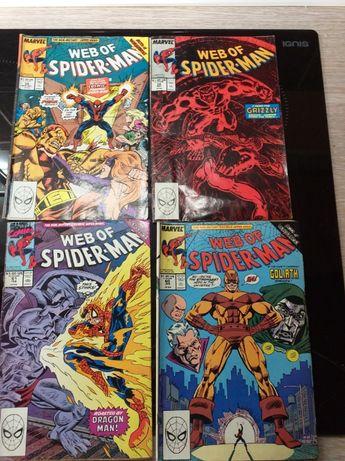 Marvel Web of Spider Man Komiksy 4 zeszyty