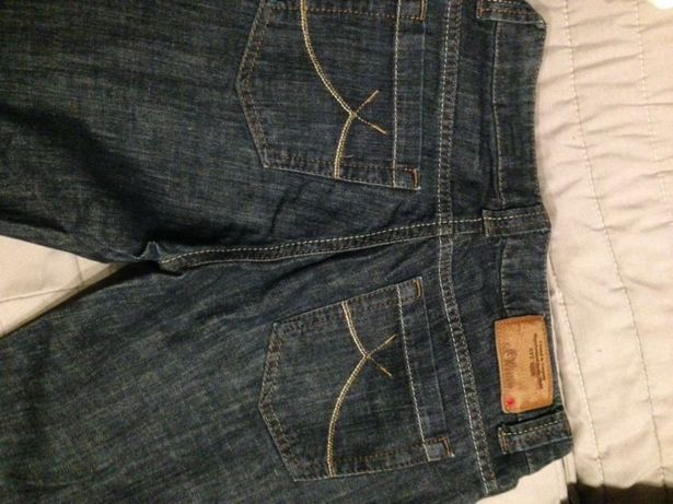 Spodnie jeans damskie roz.s