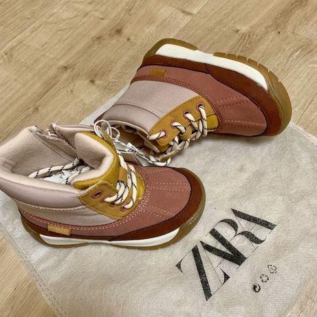 Новые сапоги, хайтопы ботинки Zara
