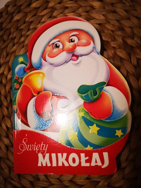 Książka Święty Mikołaj wykrojniki