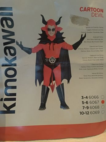 Fato Diabo Vermelho