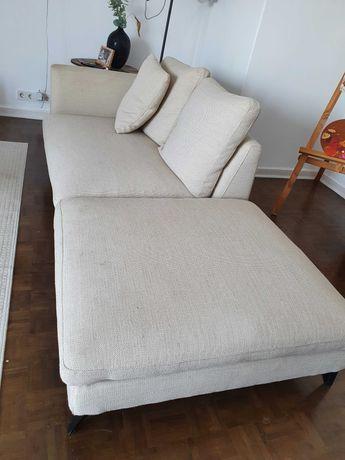 Sofá chaise-longue da area