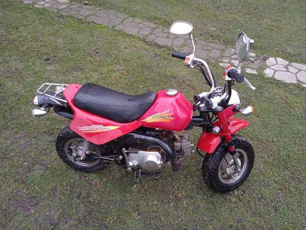 Motorynka motorower dla młodego kierowcy