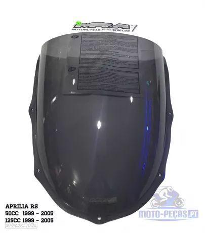 Viseira Vidro bolha Aprilia Rs 50 / 125 marca MRA Rs50 RS125
