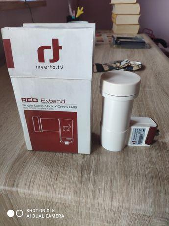 Konwerter Inverto.tv Red Extend Single Long-Neck 40mm LNB