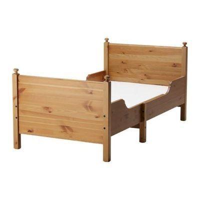 Rama łóżka Leksvik- rosnące wraz z dzieckiem.