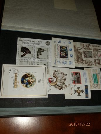 Sprzedam klaser ze znaczkami