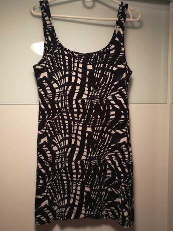 Bluzka tunika sukienka h&m
