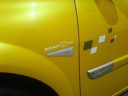 Renault F1 Team autocolante kit / piscas / vinil / track day