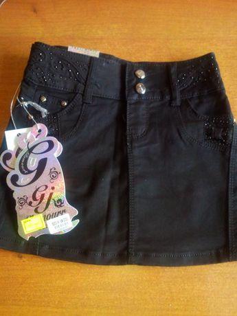 Продам юбку джинс девочка