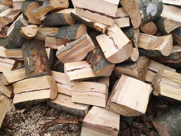 Drewno kominkowe opałowe układane cena za 1m 0d 120 do 160zl choszczno