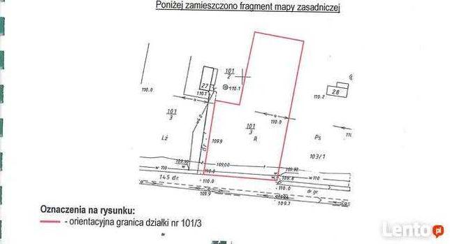 Działka budowlana Władysławów koło Płocka 3000 m2
