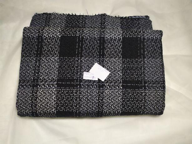 Materiał na płaszcz żakiet kupon