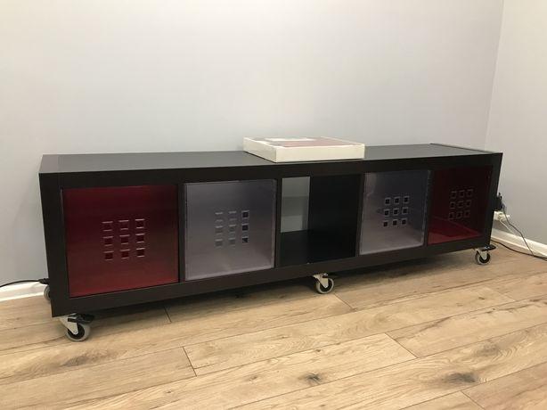 Regał Ikea rtv szafka, Lekman, kallax