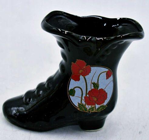 Декоративный фарфоровый сапог