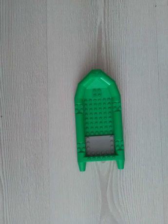 Łódka lego zielona