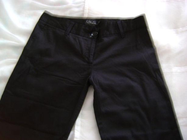 Calças de tecido pretas da clips – Sonne Butti – Nº40