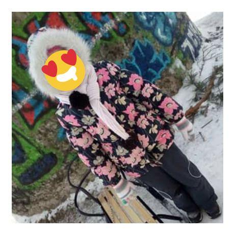 Зимняя куртка, теплая куртка  Lеnne Пуховик 5-6-7-8 лет.
