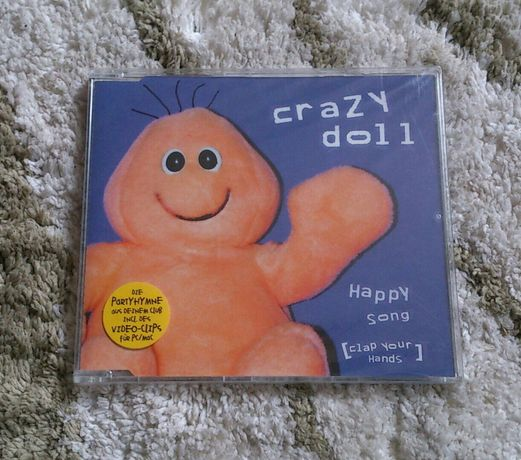 Crazy Doll - happy song (clap your hands) 2002. CD maxi singiel NOWY