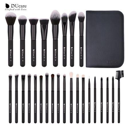 Профессиональные кисти для макияжа DUcare, 27 шт!!!