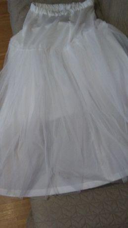 Halka do sukni ślubnej z kołem M/L