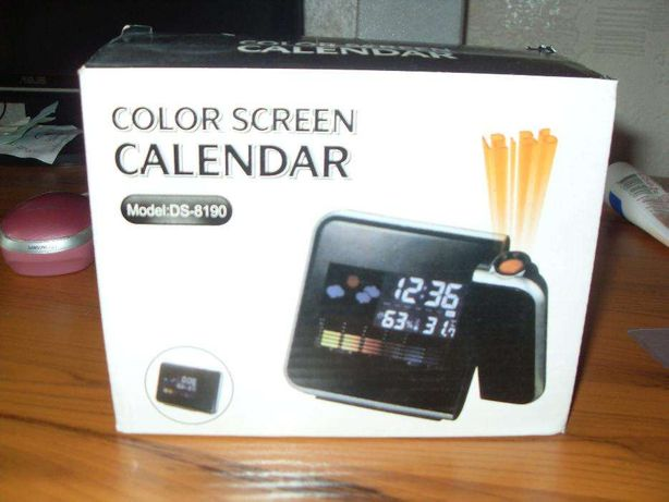Домашняя метеостанция COLOR SCREEN CALENDAR 8190