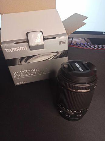 Объектив Tamron 18-200mm F3.5-6.3 под Canon EF-S