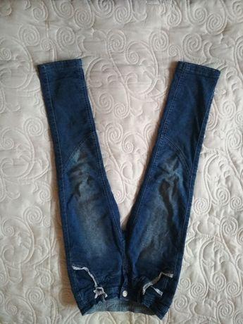Spodnie jeansowe ciepłe PALOMINO r.128