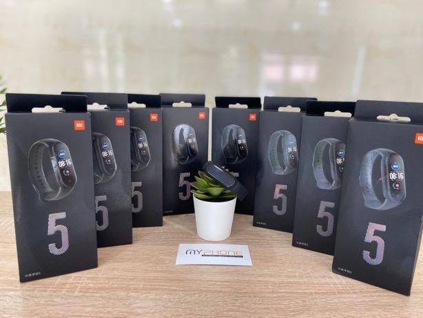 Фитнес-браслет Xiaomi Mi Smart Band 5 Black НОВИНКА 2020 года!