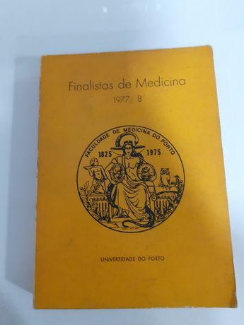 Livro Finalistas de medicina 1977/78 da Universidade do Porto