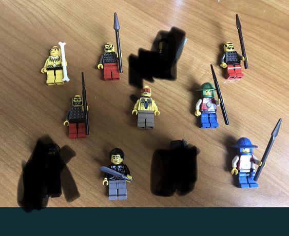Lego Rycerze castle i islanders - 8 ludzikow
