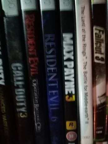 Resident evil PL Xbox 360 stan idealny horror Max Payne