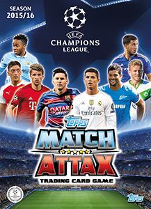 Karty Topps UEFA Champions League 2015-16. Match Attax