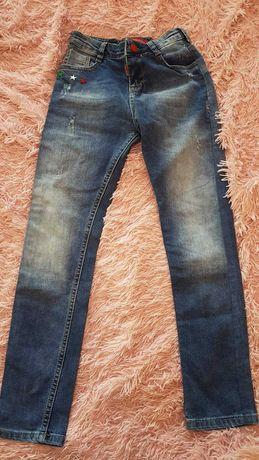 детские джинсы на рост 110