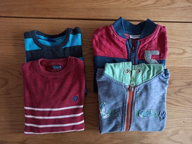 Swetry i bluzy dla chlopca rozm. 116