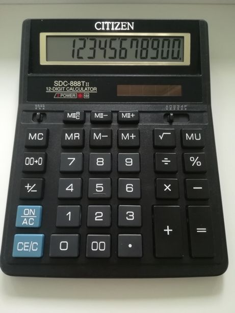 """Калькулятор """"Citizen"""""""