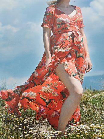 Letnia sukienka ciążowa rozmiar 38